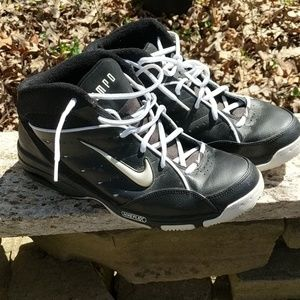 Men's Nike uptempo high top sneakers size 10.5